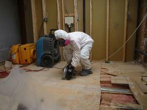 Water damage imlaystown Floor Repair