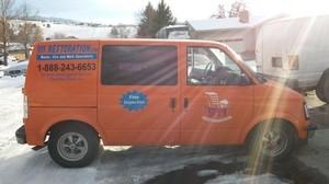 Flood Damage Restoration Van