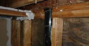 Water Damage Restoration and Mold Removal In Joists And Piping
